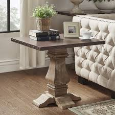 Voyager Wood and Zinc Balustrade Accent Tables by iNSPIRE Q Artisan - Free  Shipping Today - Overstock.com - 19399256