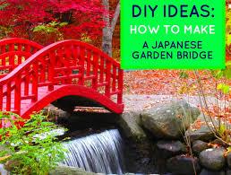 a japanese garden bridge