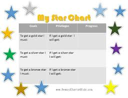 Gold Star Chart For Adults Free Printable Star Charts For Kids