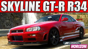 nissan skyline 2014 custom. forza horizon custom cars 1 1000bhp nissan skyline gtr r34 youtube 2014 l