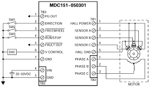 mdc151 050301 brushless dc speed controllers brushless dc controllers mdc151 050301 wiring