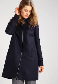 tommy hilfiger blue berber short coat women s coats larger image