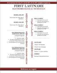 Free Resume Template Download Open Office Openoffice Templates
