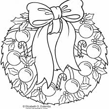 Download Christmas Sports Coloring Pages 29 Holiday Holly Wreath