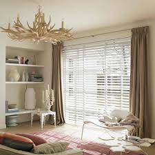 internal white venetian blinds with blockout curtain over the top rolletna shades blinds