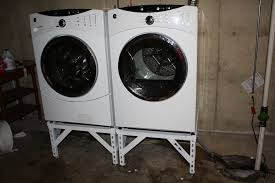 washer and dryer stands. Picture Of Completed Project Washer And Dryer Stands O