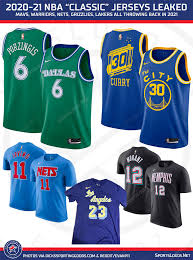 Starting december 3rd, all nba city jerseys can be purchased here. Mavs Green Nets Tie Dyes Highlight Nba S Throwback Jerseys In 2021 Sportslogos Net News