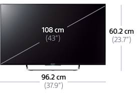 sony tv 43. picture of w80c full hd with android tv sony tv 43 w