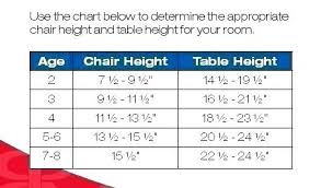 Table And Chair Height Guidelines Tictravel Co