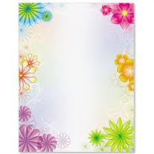 Flower Border Designs For Paper Best Some Border Designs Paper Chart Paper Boundry Designs Darlene