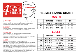 45 Inquisitive Four Wheeler Helmet Size Chart