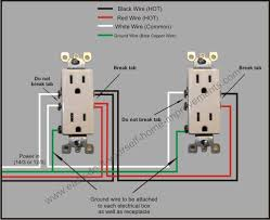 split plug wiring diagram outlet wiring diagram white black Outlet Wiring Diagram #24