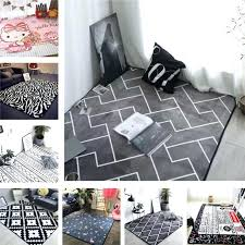 decorative area rugs style grey color stripe area rugs bedroom mat non slip floor rug super