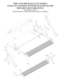 liftgate diagrams tommy gate liftgate parts diagrams shop ite tommy gate railgate series bi fold diagram 2 of 2 flatbed