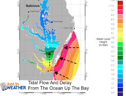 Chesapeake Bay Tide Chart 2015 Virginia Storm Water Levels Animation For Chesapeake Bay Just In