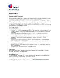 Bar Staff Job Description Employee Job Description Template Format New Employee Job