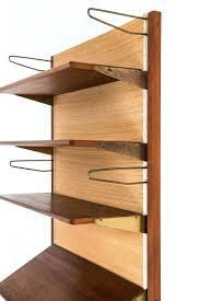wall mounted bookcase shelves plans white with sliding doors