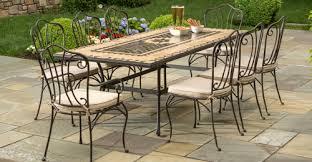 wrought iron outdoor furniture. Wrought Iron Patio Furniture \u2013 7 Outdoor