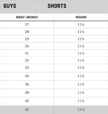Aeropostale Boxers Size Chart Best Picture Of Chart