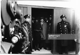 betty shabazz at malcolm x premiere pictures getty images flanked by police officers civil rights activist betty shabazz 1934 1997 is