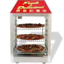 this versatile 2 door warmer merchandiser is ideal for front or rear counter s the operator side has the controls and a door for easy loading
