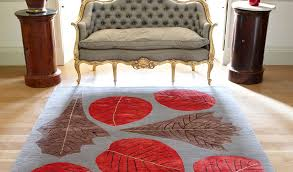 hand knotted designer rug