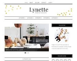 lynette boutique home decor wordpress blog theme themeshaker com