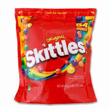 skittles original bite sized cans 54 oz bag