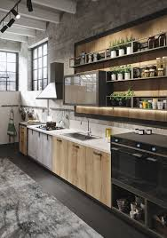 canyon kitchen cabinets. Industrial And Rustic Designs Resurfaced By The New Loft Kitchen Rovere Canyon Images Cabinets Y