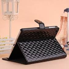 25 best Awesome phone cases images on Pinterest   Accessories ... & Black Quilted Trendy Leather Ipad Mini Case Adamdwight.com