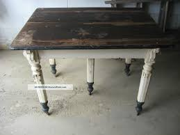 Old Fashioned Kitchen Table Vintage Farmhouse Kitchen Antique Five 5 Legged Kitchen Table