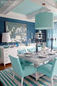 the room was inspired by the fabulous chevron fabric from jonathan adler s new line for kravet wabash fabric in aquamarine which ties everything together
