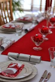 red and silver table decorations. Diy Christmas Table Decorations And Settings Centerpieces Setting Red Silver