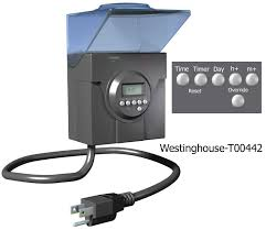 Westinghouse 4 Function Christmas Light Tester Outdoor Timers