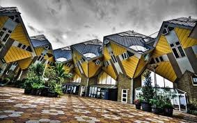 architecture buildings around the world. Cubic Houses, Netherlands Architecture Buildings Around The World