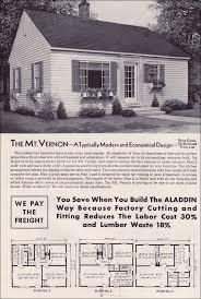 1951 aladdin kit houses the mt vernon