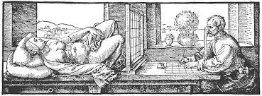 Aphilia Kunst Dürer Underweysung Der Messung