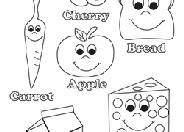It makes us live, grow and be strong. Food Coloring Pages Printables Education Com