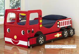 Fire Engine Kids Bed Bedroom Fire Truck Bunk Bed Fire Truck Bed