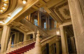 Image result for bucharest parliament interior