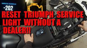 Triumph Speed Triple Engine Management Light Reset Your Triumph Service Light Without A Dealer Tune Ecu