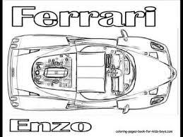 Ferrari Fxx K Coloring Pages