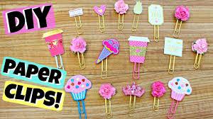 Flower Paper Clips Diy Cute Paper Clips Cupcakes Flowers Tiaras Etc