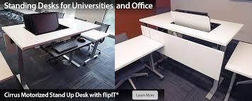 smart design furniture. Cirrus Stand Up Motorized Smart Desk Design Furniture
