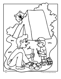 Small Picture camping coloring sheets 12 camping coloring pages for summer camp