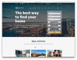 Real Estate Website Templates 24 Best Real Estate WordPress Themes For Agencies Realtors And 1