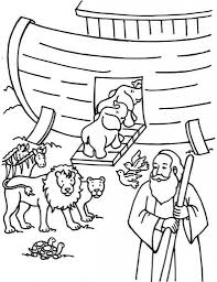 The Amazing and Interesting Noah And The Ark Coloring Pages for ...
