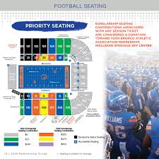 Bronco Athletic Association Football Seating