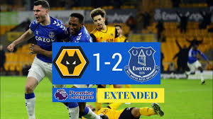 Wolverhampton vs Everton 1-2 | Goals & Highlights