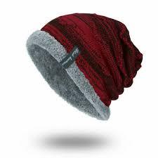 Зимние шапочки мешковатые толстые шляпа для мужчин ...